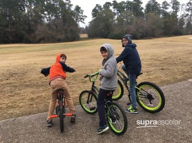 día típico - bicicletas