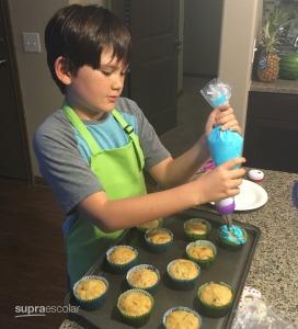 día típico - cocinando